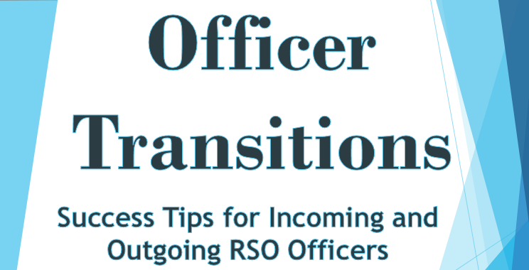 Officer Transitions: Success Tips for Incoming and Outgoing Officers
