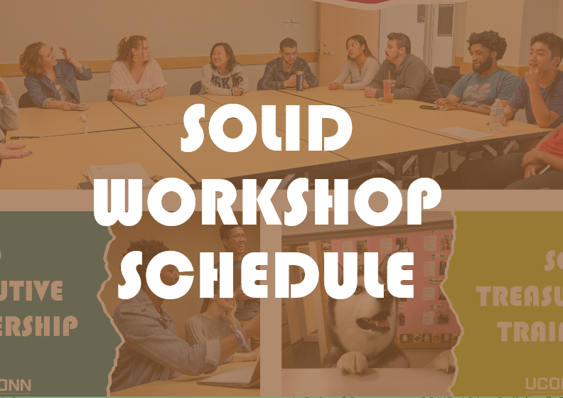 SOLID Workshop Schedule